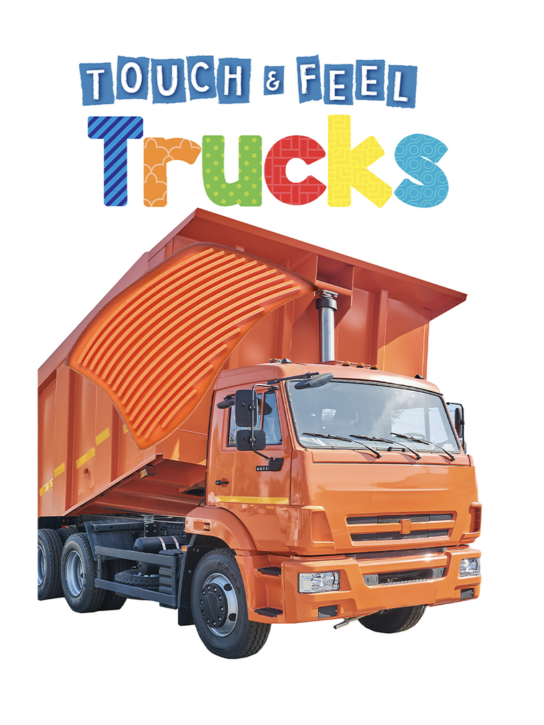 Trucks Touch and Feel by Little Hippo Books