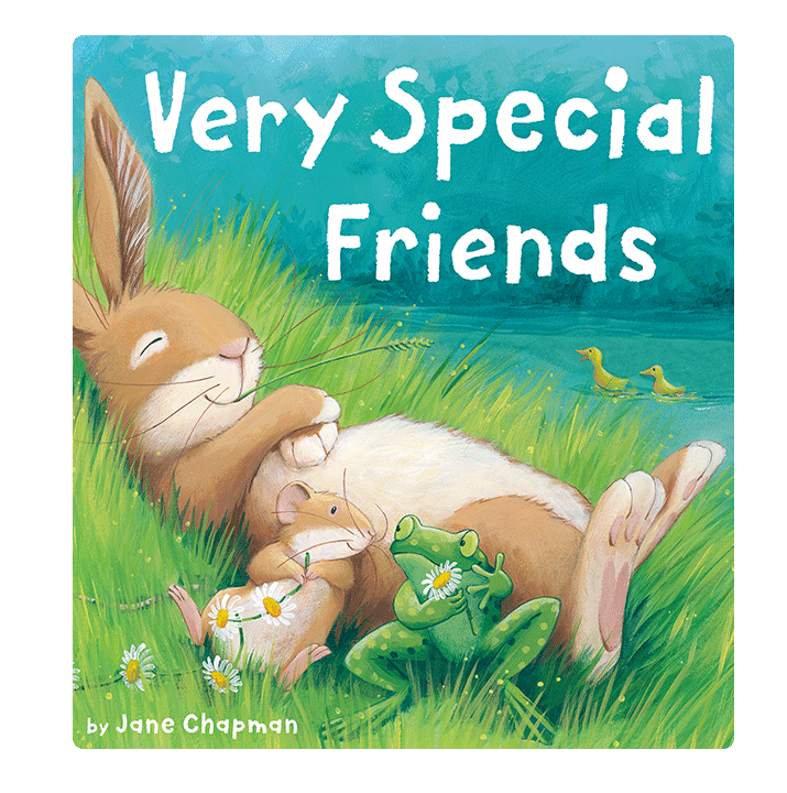 Little Hippo Very Special Friends Padded Board Children's Book friendship animals