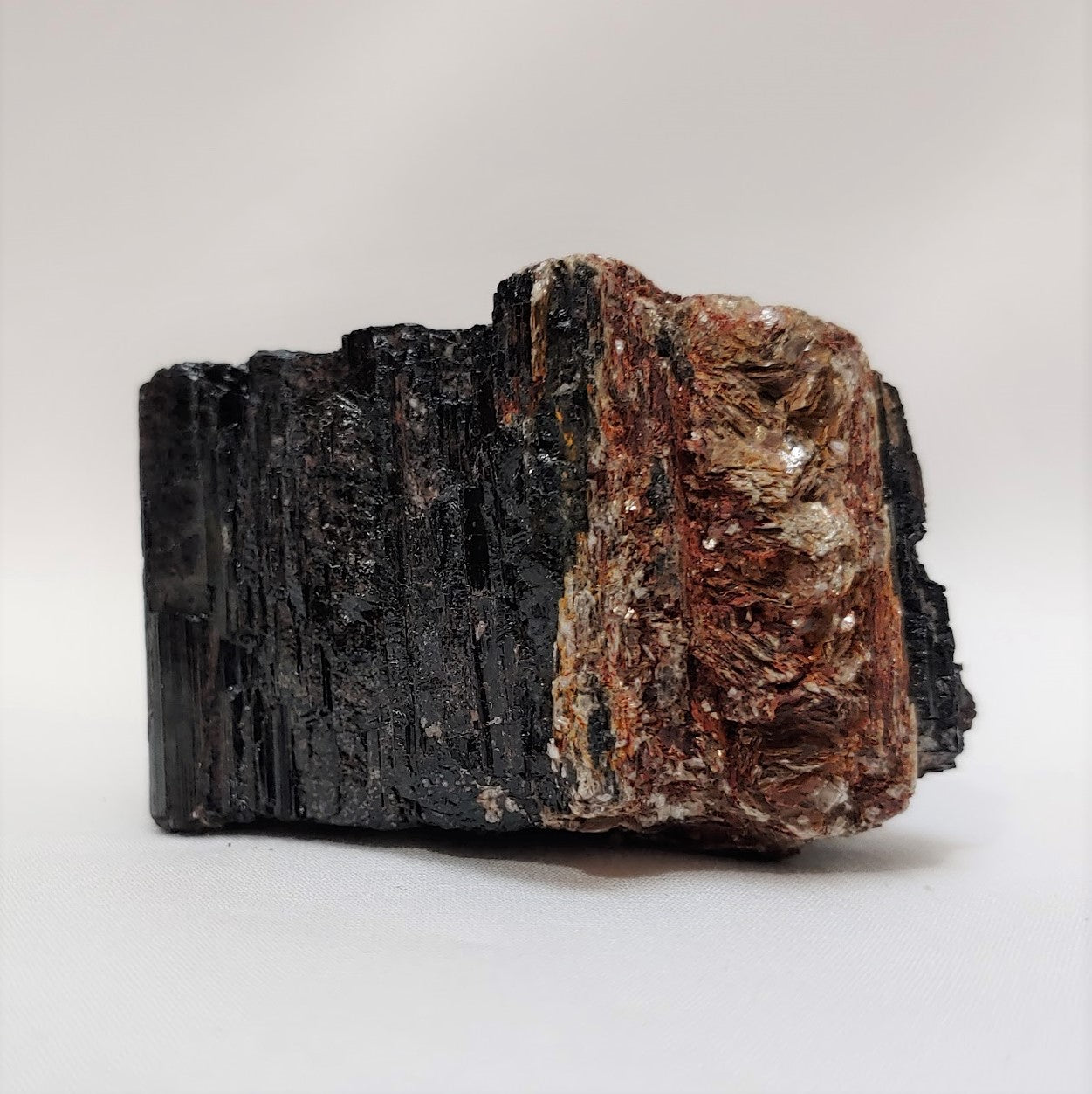 Black Tournaline / Pyrite inclusion