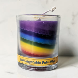 Rainbow Candle (unscented)