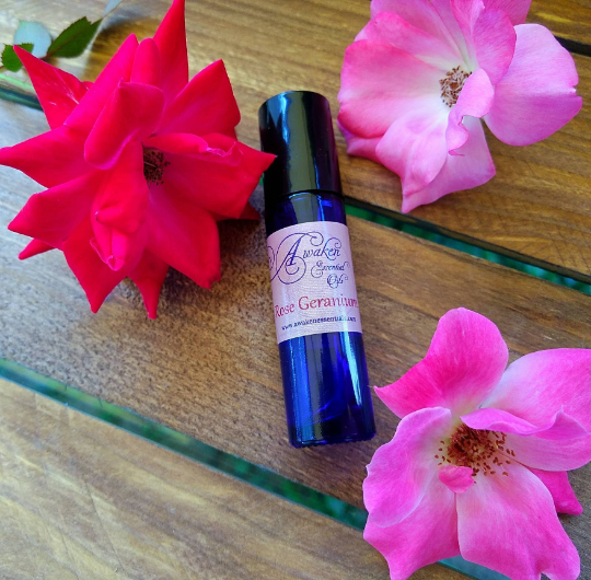 Skin Care - Rose Geranium Serum & Toner