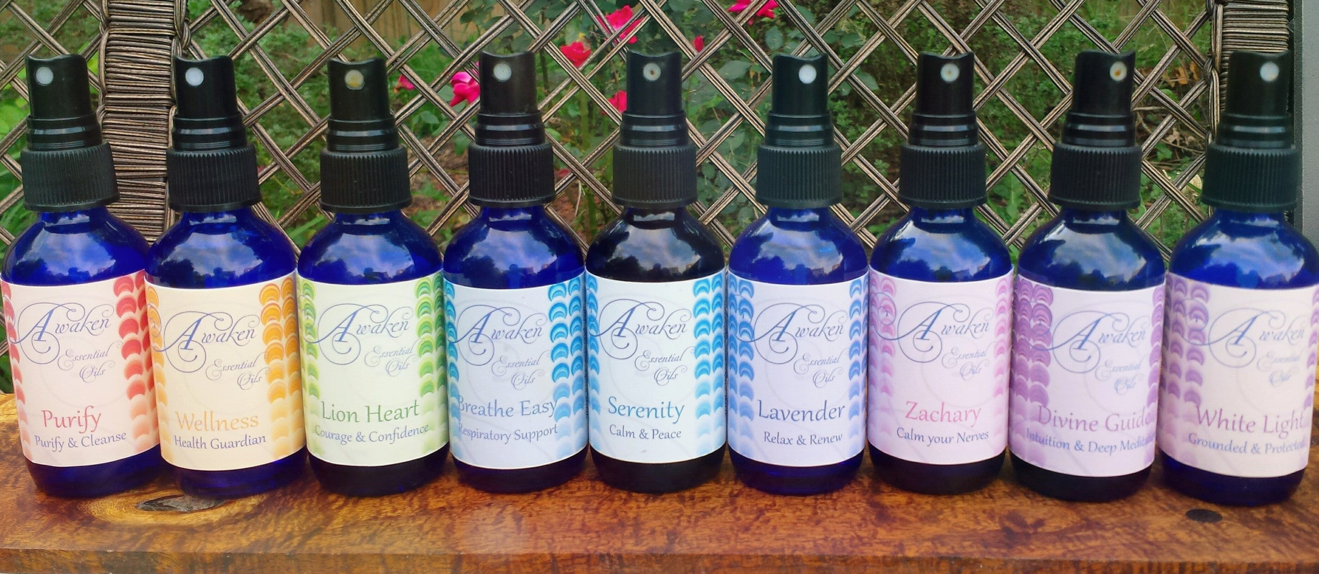 Organic Essential Oil Body/Room Sprays