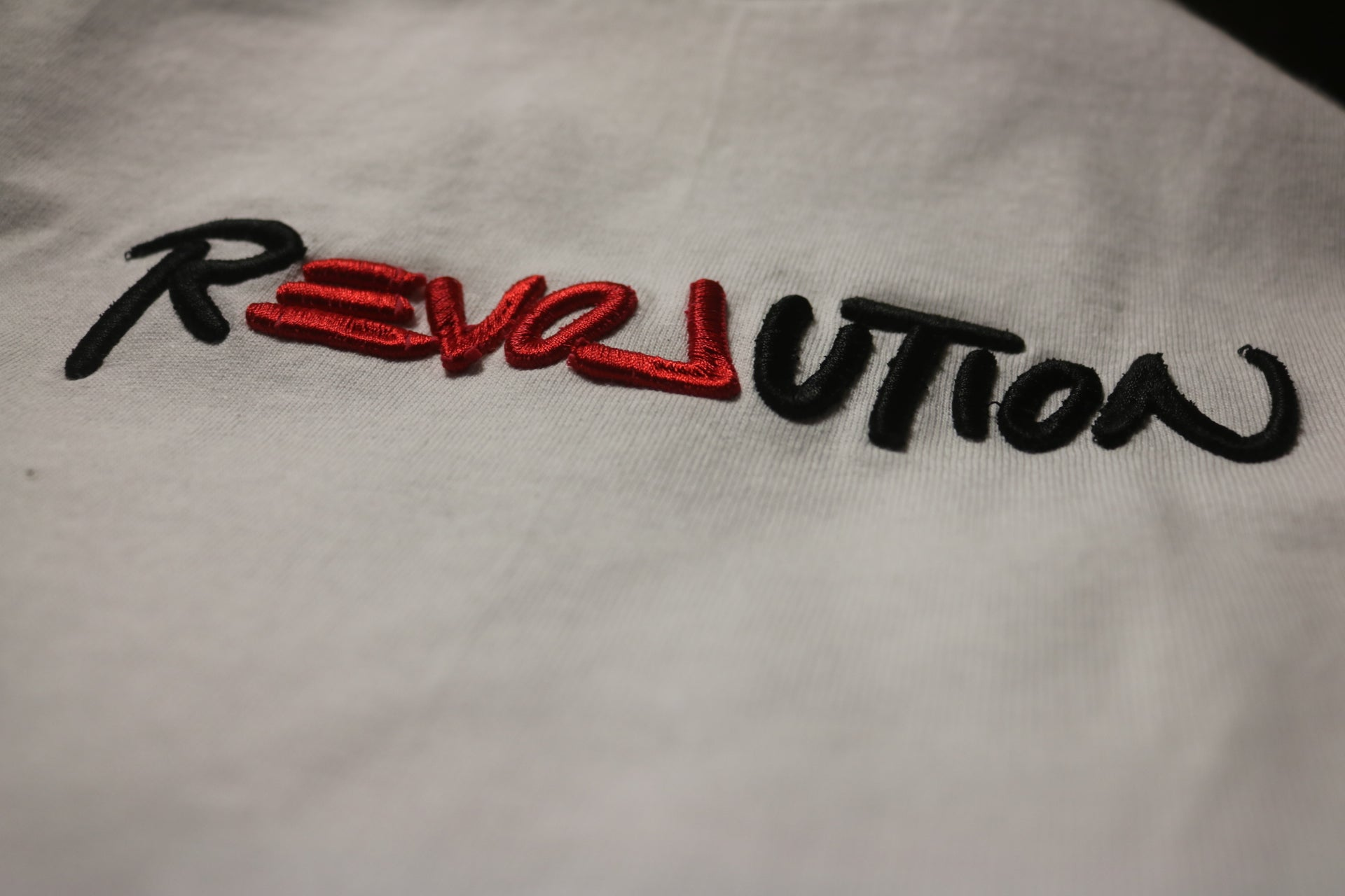 2. Revolution (Embroidered T-Shirt)