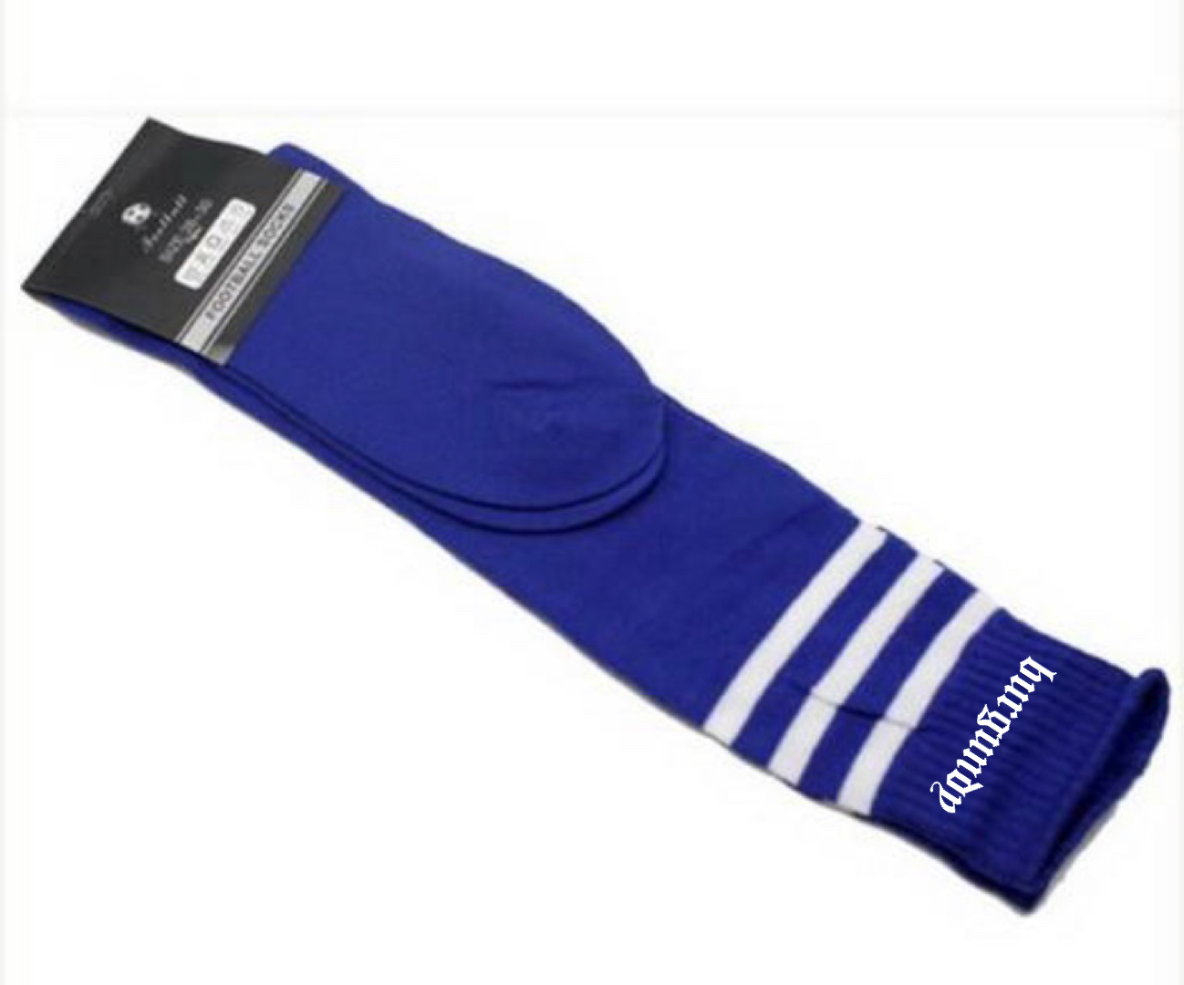 7. Striped Tubed Socks (Embroidered)