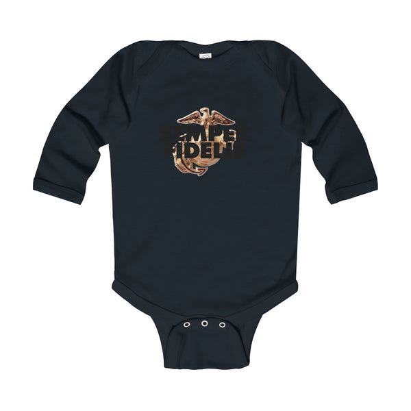 Semper Fidelis Infant Long Sleeve Bodysuit