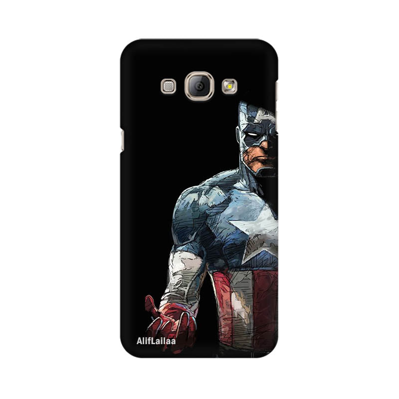 Captain America Samsung A8 Sublime Case Nx575