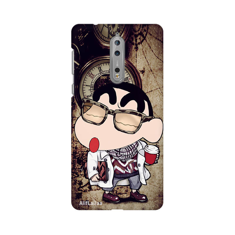 Cartoon Love Nokia 8 Sublime Case Nx155