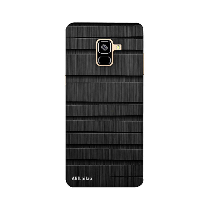 Wooden Texture Samsung A8 Plus Sublime Case Nx418