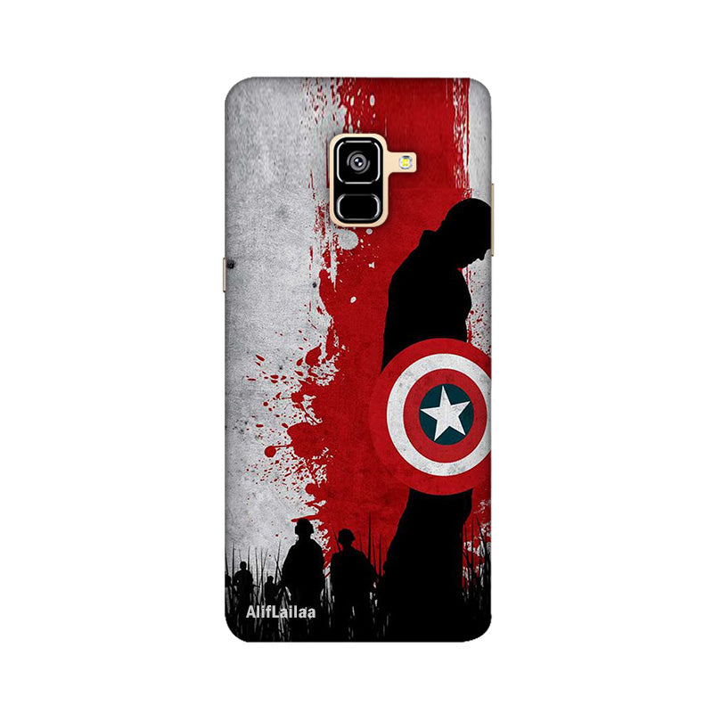 Captain America Samsung A8 Plus Sublime Case Nx576