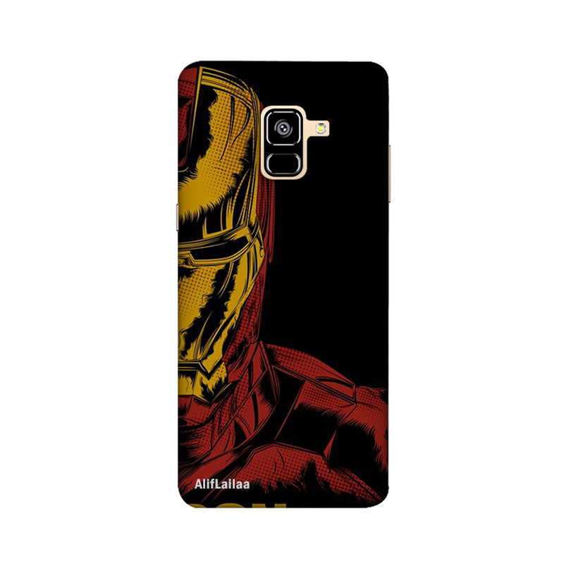 Iron Man Samsung A8 Plus Sublime Case Nx101