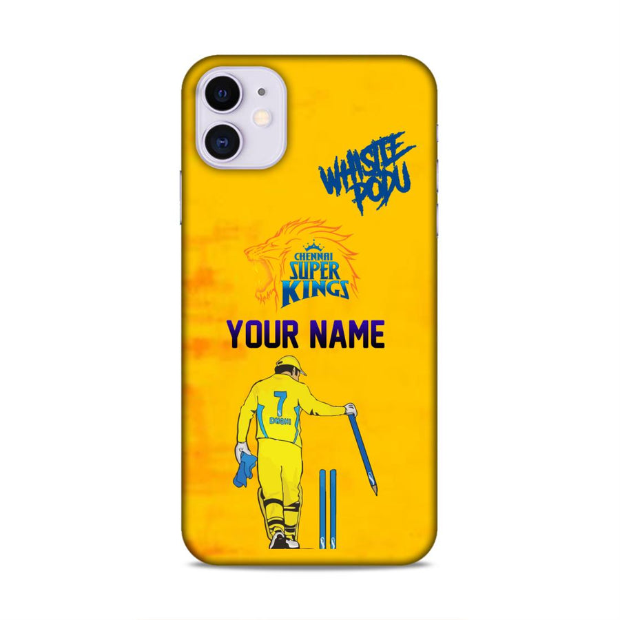 Ms Dhoni Csk Custom Name Case cx08