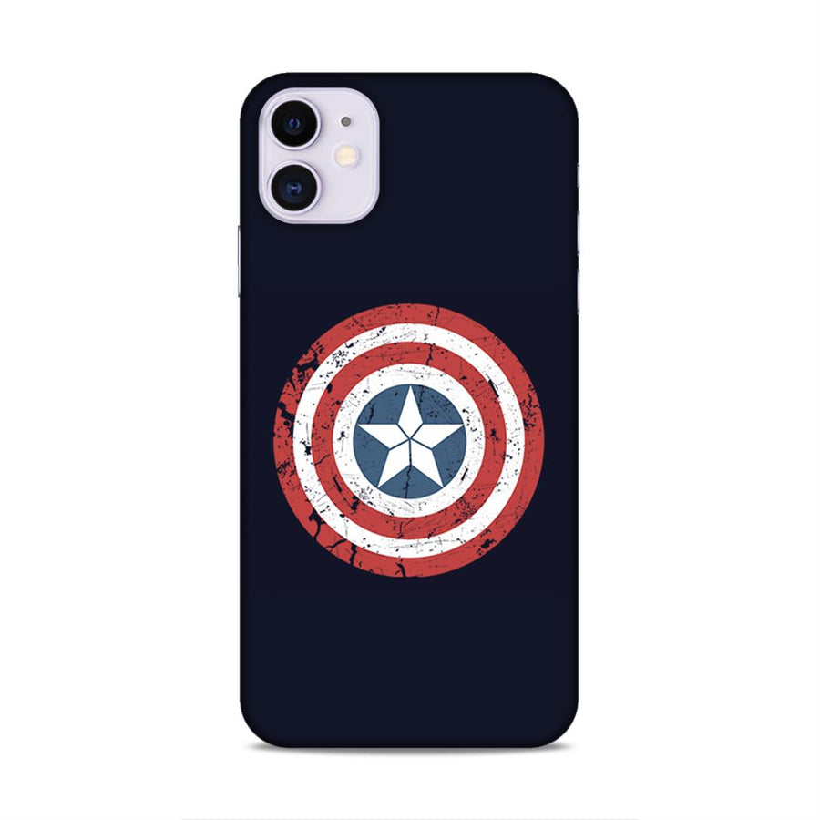 Captain America iPhone 11 Mobile Back Cover nx280