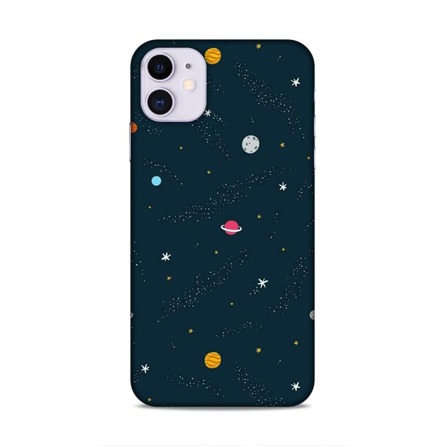 Space iPhone 11 Mobile Back Cover nx409