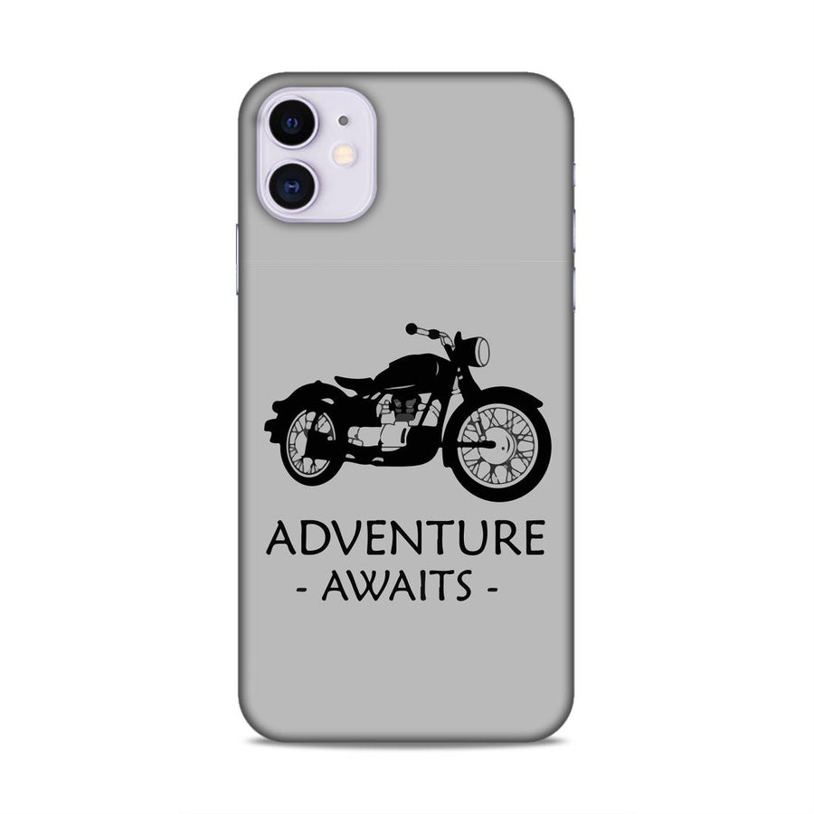 Typography iPhone 11 Mobile Back Cover nx532