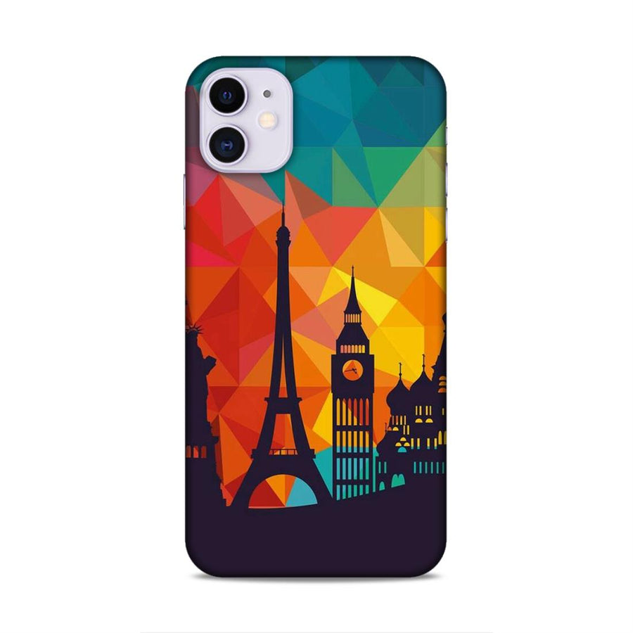 Skylines iPhone 11 Mobile Back Cover nx656