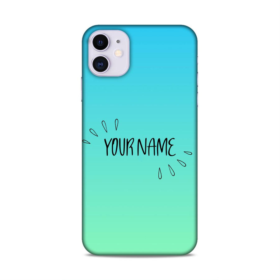 Customised Texture Design Name Case cx02