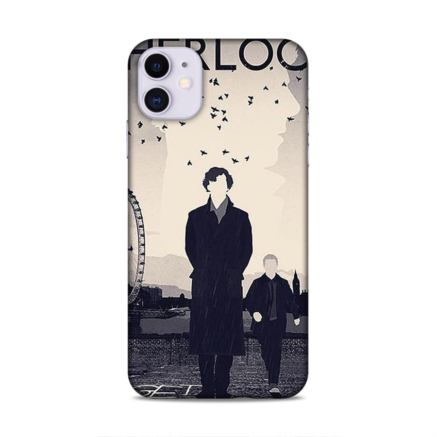 Sherlock Holmes iPhone 11 Mobile Back Cover nx858