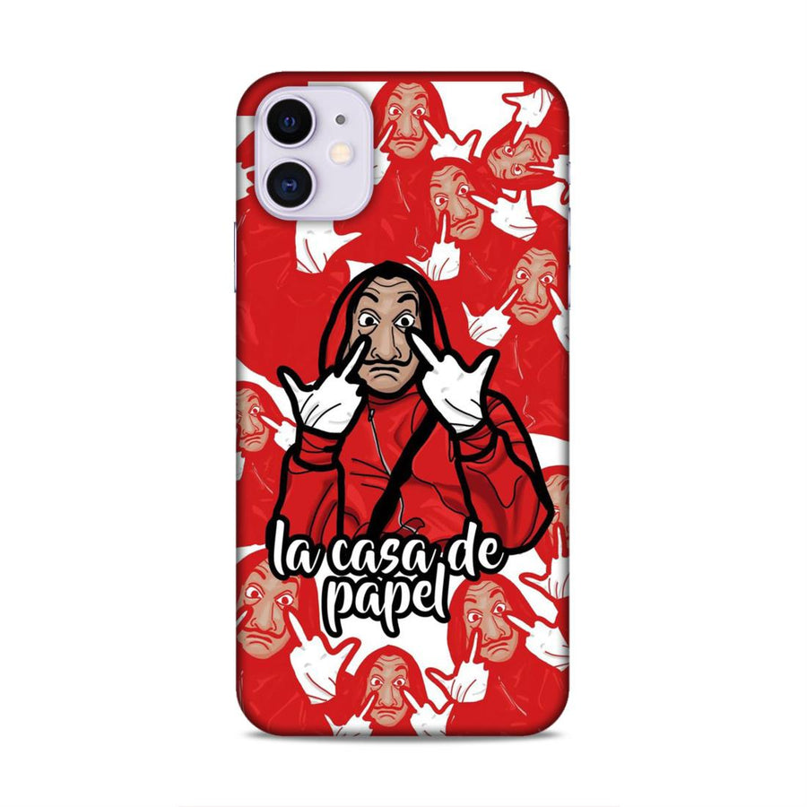 Money Heist iPhone 11 Mobile Back Cover nx931