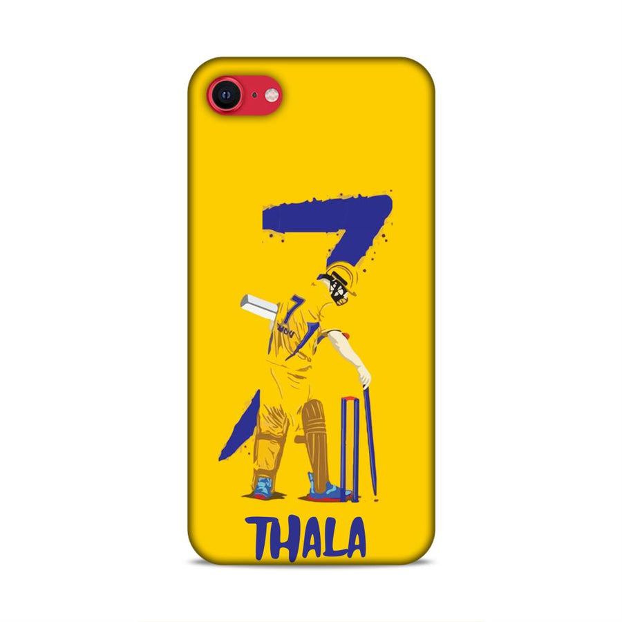 iPhone se 2020  Ms dhoni mobile back cover