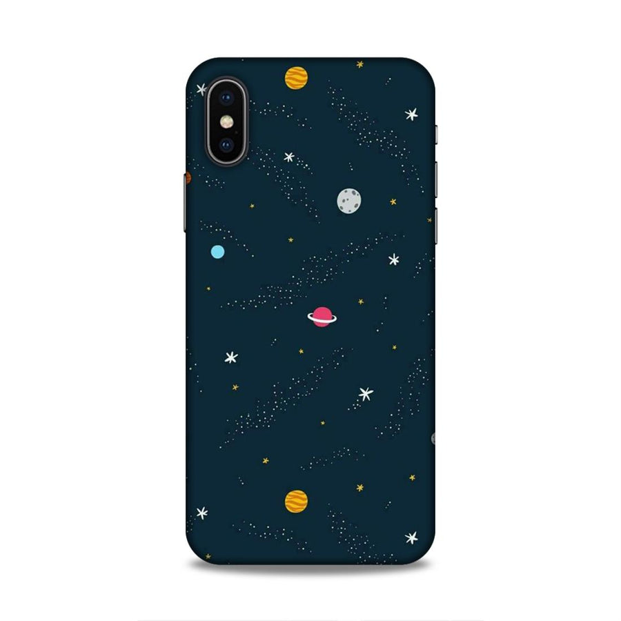 Space iPhone X  Mobile Back Cover nx409