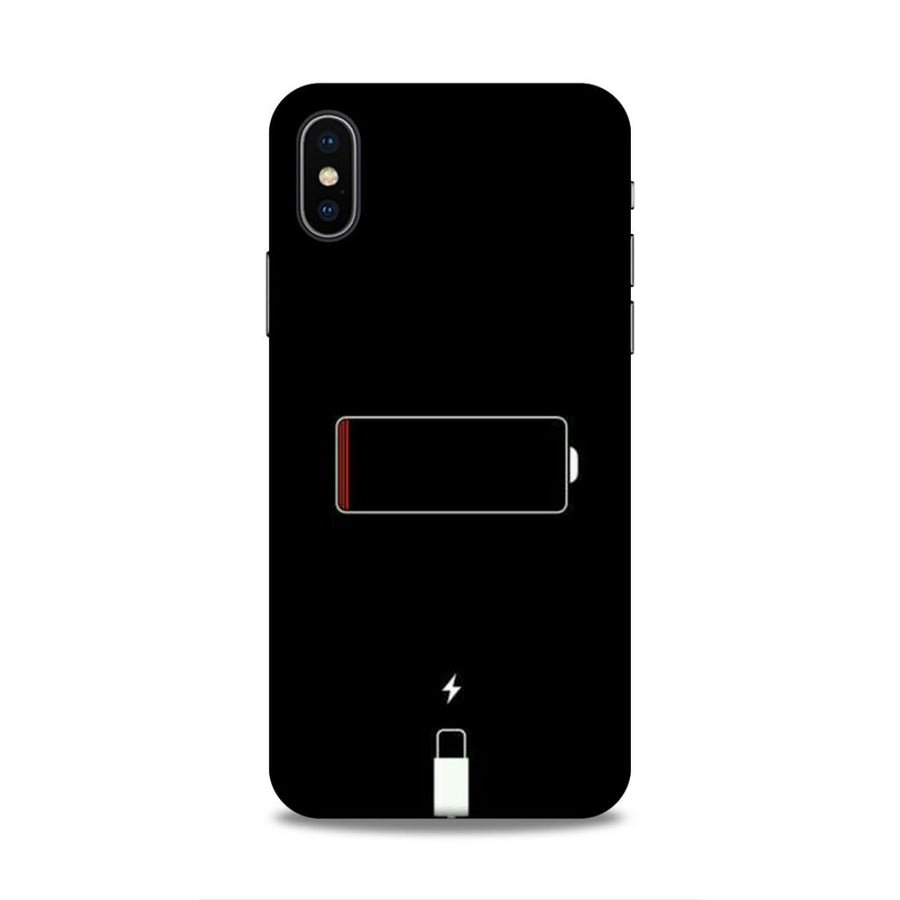 Typography iPhone X  Mobile Back Cover nx483
