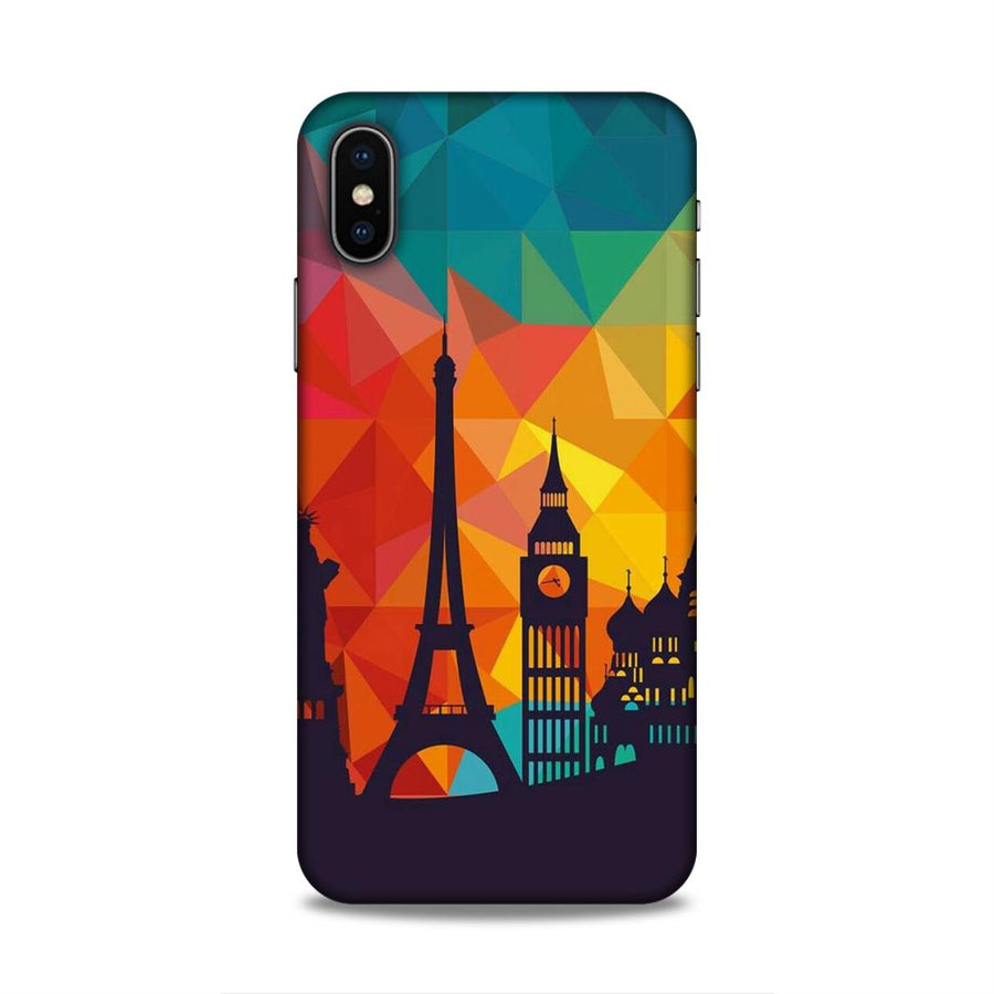 Skylines iPhone X  Mobile Back Cover nx656
