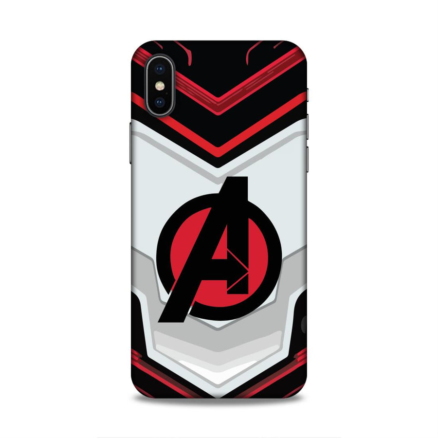 Avengers iPhone X  Mobile Back Cover Nx681