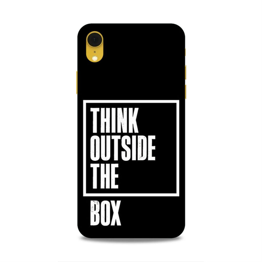 Typography iPhone XR Mobile Back Cover nx515