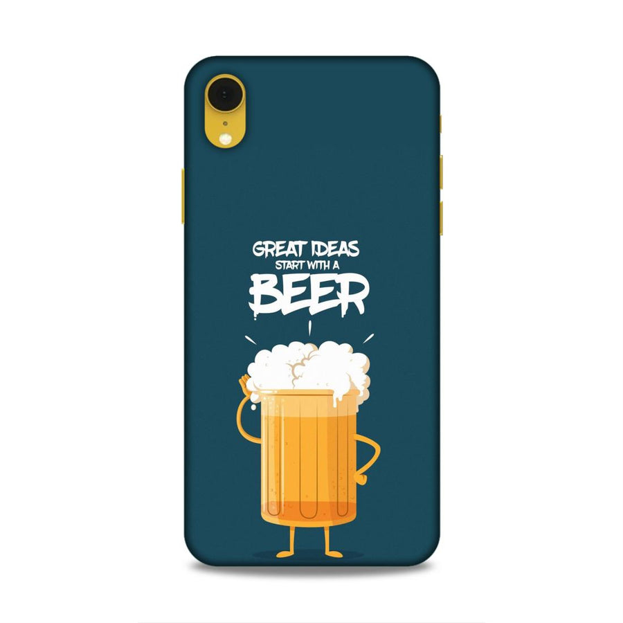 Typography iPhone XR Mobile Back Cover Nx691