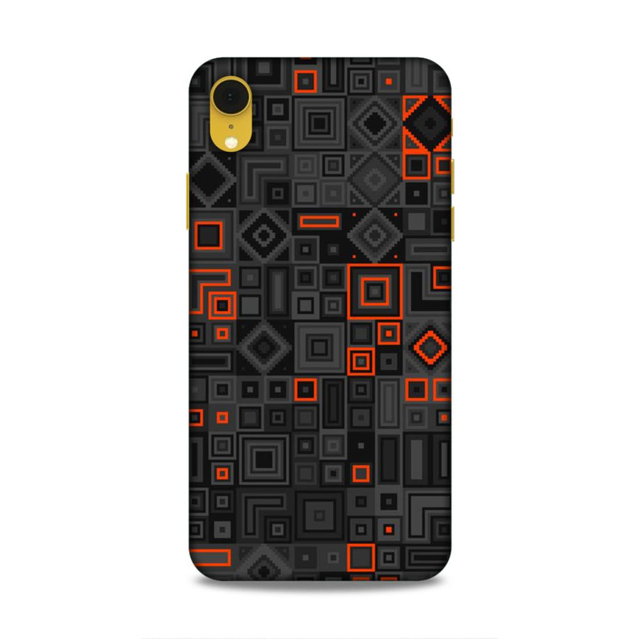 Abstract iPhone XR Mobile Back Cover nx795