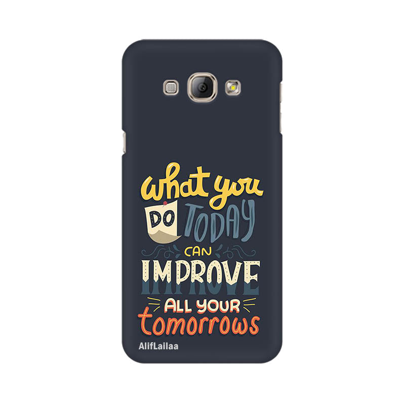 Good Vibes Samsung A8 Sublime Case Nx397