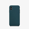 Midnight blue color premium iphone x / xs  liquid silicon case