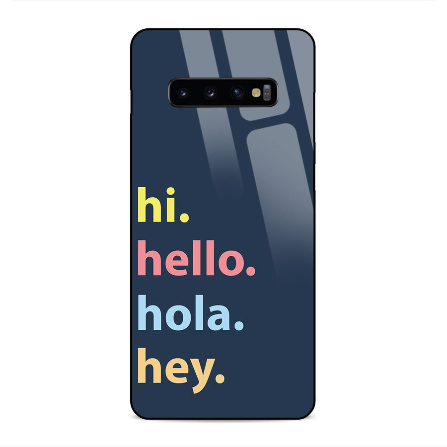Glass Phone Cases,Samsung S10 Plus Glass Case