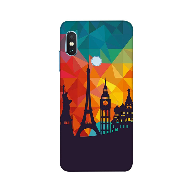 Redmi Note 6 Pro,Skylines,Phone Cases,Xiaomi Phone Cases