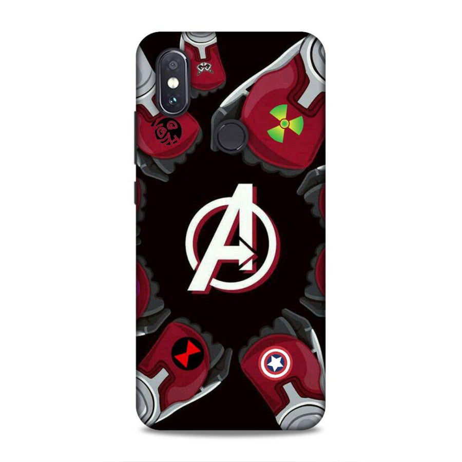 Soft Phone Case,Phone Cases,Xiaomi Phone Cases,Mi A2 Soft Case,Superheroes