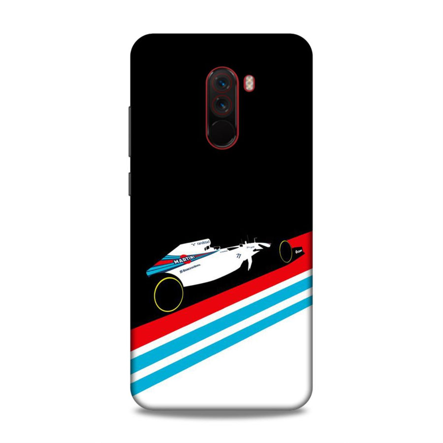 Abstract Poco F1 Mobile Back Cover nx18