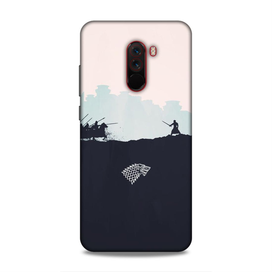Game Of Thrones Poco F1 Mobile Back Cover nx220