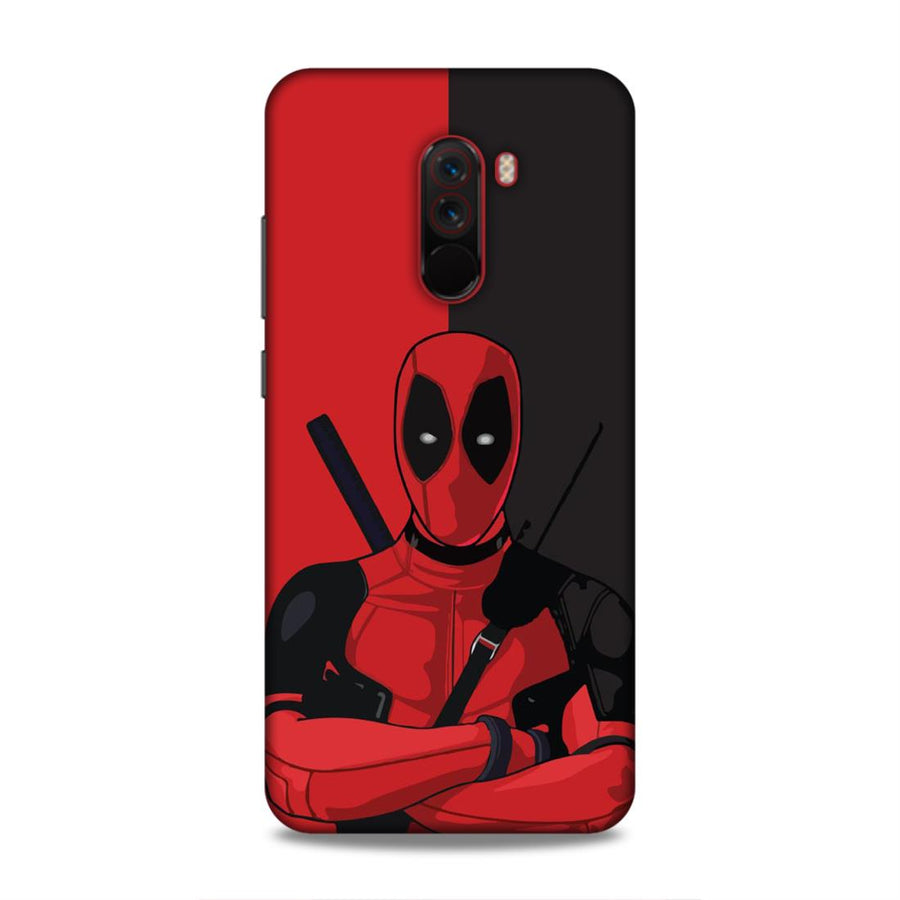 Deadpool Poco F1 Mobile Back Cover nx295