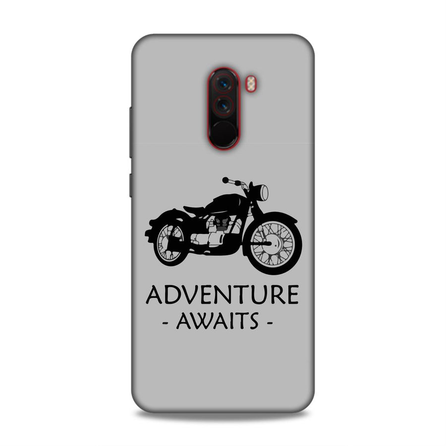 Typography Poco F1 Mobile Back Cover nx532
