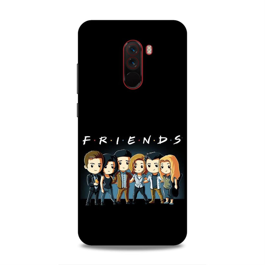 Friends Poco F1 Mobile Back Cover nx609