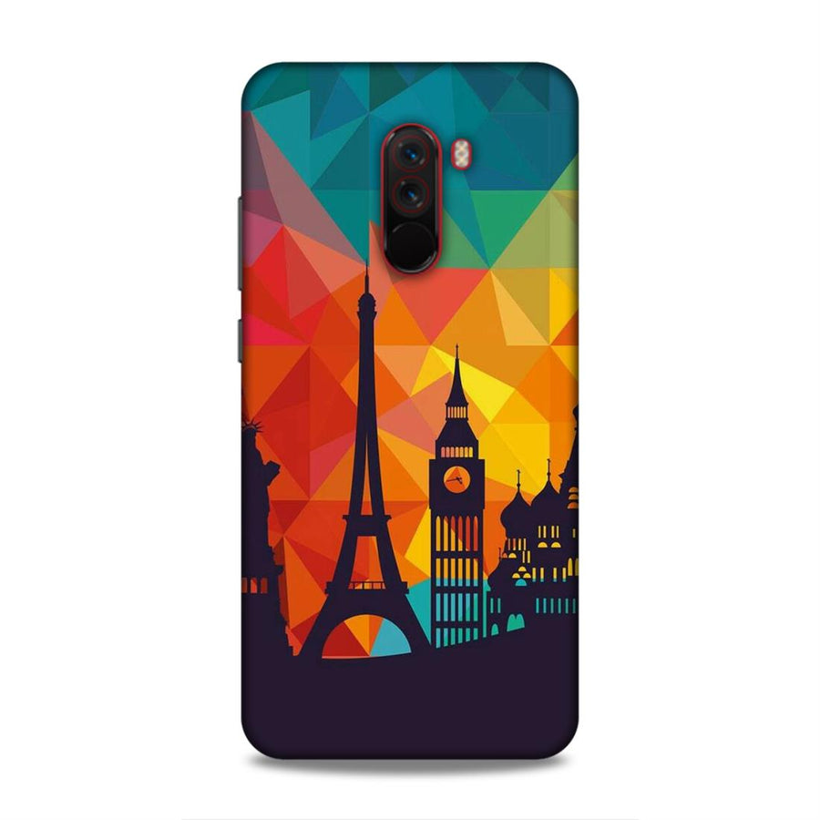 Skylines Poco F1 Mobile Back Cover nx656