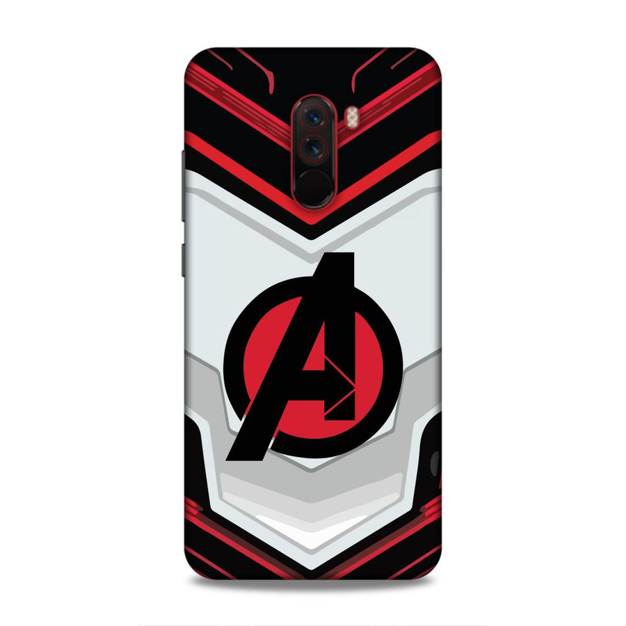 Avengers Poco F1 Mobile Back Cover Nx681