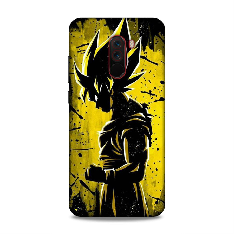 Goku  Poco F1 Mobile Back Cover nx81