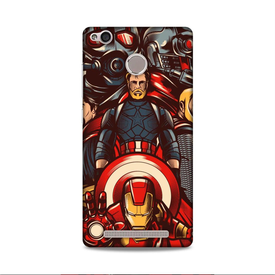 Phone Cases,Xiamomi Phone Cases,Redmi 3s Prime,Superheroes