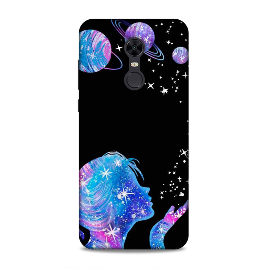 Soft Phone Case,Phone Cases,Xiaomi Phone Cases,Redmi Note 5 Soft Case,Space
