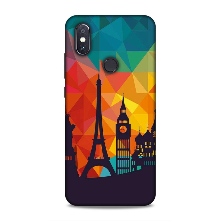 Skylines Redmi Note 5 Pro Mobile Back Cover nx656