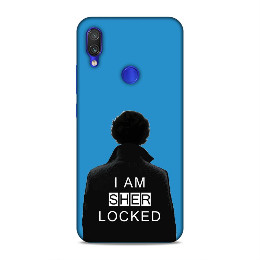 Sherlock Holmes Redmi Note 7 Mobile Back Cover nx472
