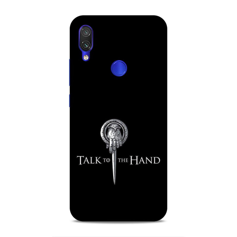 Game Of Thrones Redmi Note 7 Pro Mobile Back Cover nx218
