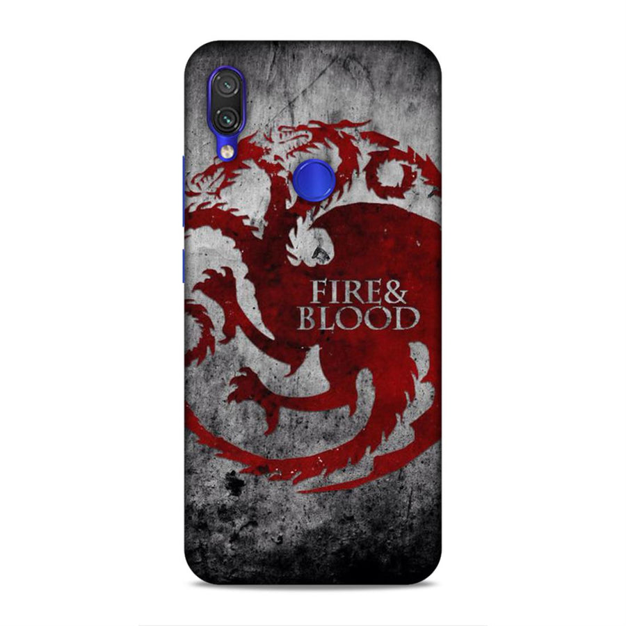 Game Of Thrones Redmi Note 7 Pro Mobile Back Cover nx223