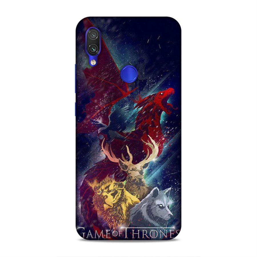 Game Of Thrones Redmi Note 7 Pro Mobile Back Cover nx226
